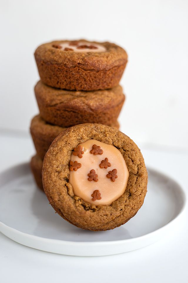 Fudge Filled Gingerbread Cookie Cups There S Nothing Better Than A