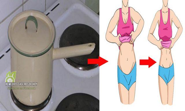 La receta secreta para perder 5 kg en solo 2 días, increíble realmente funciona