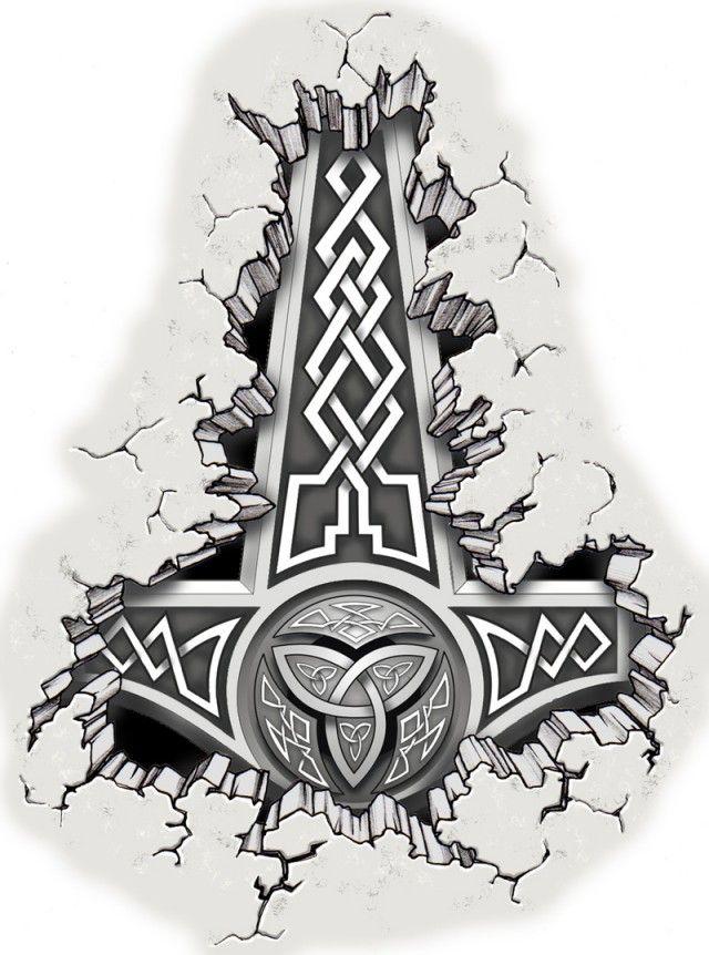 Thor's Hammer by mmbretweir.deviantart.com on @deviantART