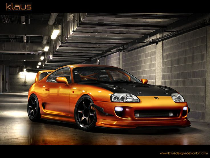 Speedhunters Toyota Supra   Need For Speed Tribute