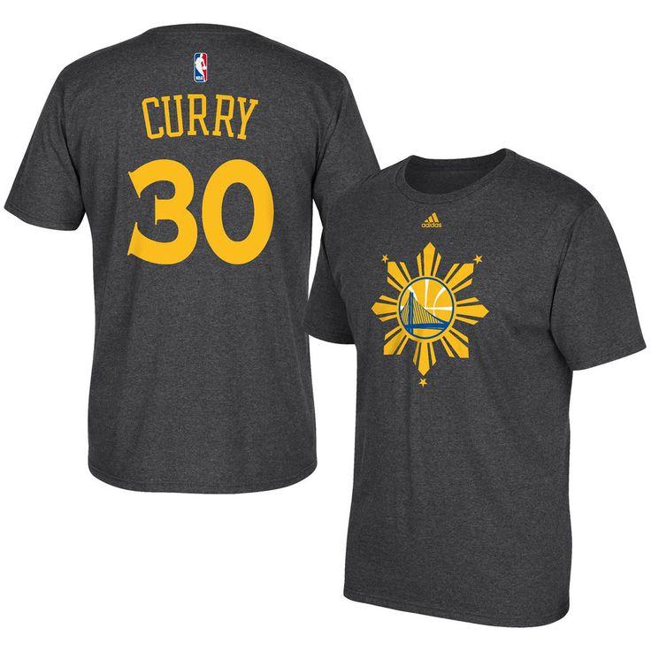 adidas Men's Golden State Warriors Stephen Curry Filipino Heritage Night T-shirt