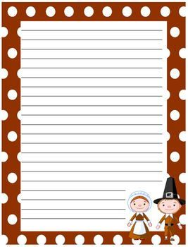 free thanksgiving writing paper Download some cute writing paper designs for yourself and your kid to celebrate the autumn festival in a charming way i am offering cute designs for free printable.