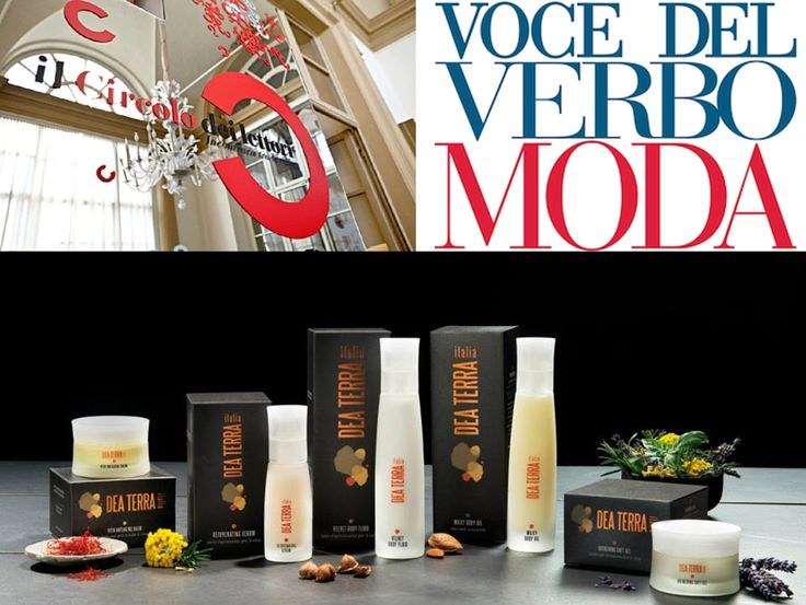Today at @Maria Ledda Di Maio dei Lettori Dea Terra presents its staff, concept and beauty products, don't miss it!