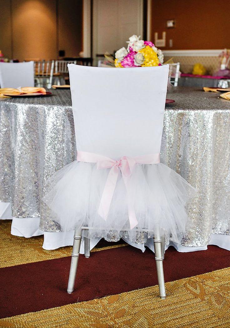 Ballerina Theme: Tutu-ed chair