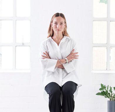 Organic cotton blouse VOLUME by JAN 'N JUNE  #fairfashion #slowfashion #ecofashion