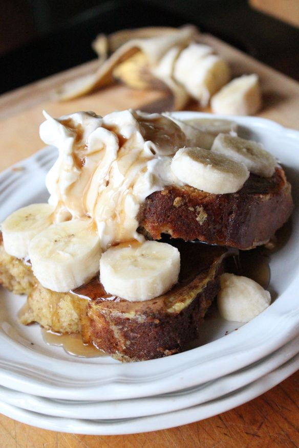 Banana Bread French Toast! | Food-Desserts and Sweets | Pinterest