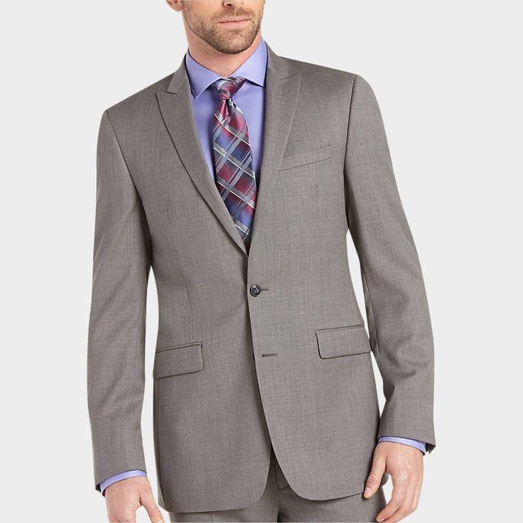Calvin Klein Gray Extreme Slim Fit Suit - Extreme Slim Fit | Men's Wearhouse