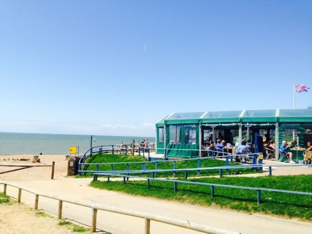Lovely Burton Bradstock - West Dorset. If you go make sure you head to The Hive Cafe!