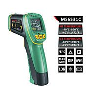 Mastech ms6531a fargeskjerm infrarød termometer (-40 ℃ ~ 800 ℃) k typen temperaturføler kan kobles datalagring