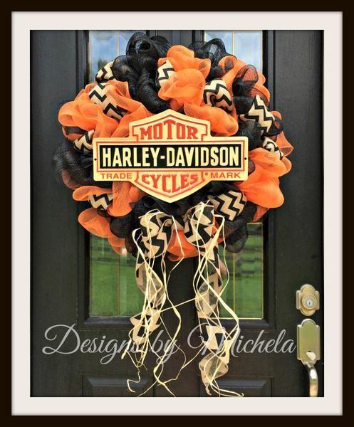 Harley Davidson Wreath V4, BR122