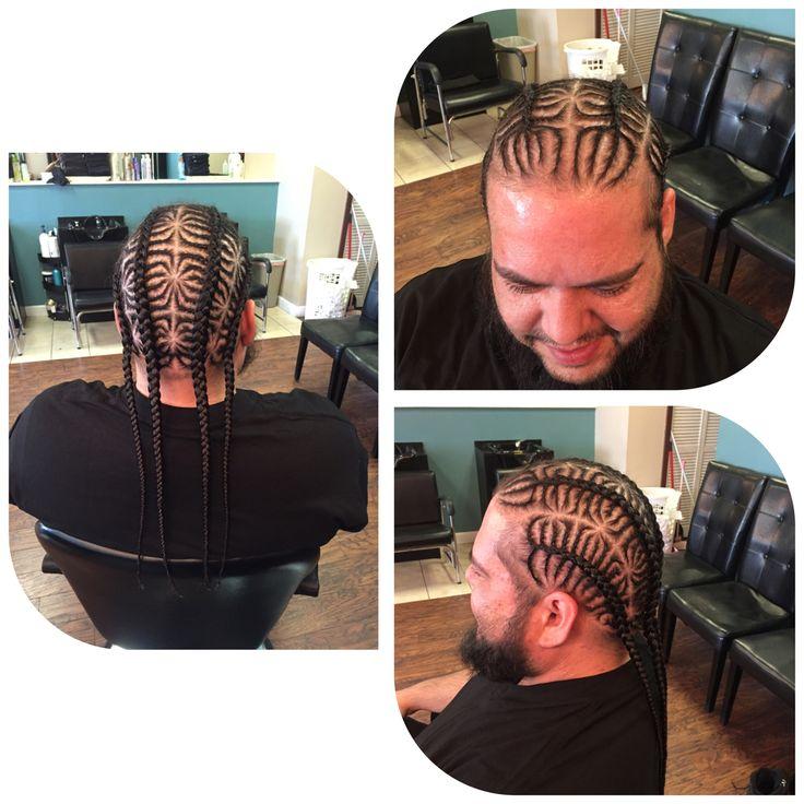 Cornrows, iverson braids, styles for men