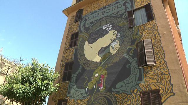 Tutta la street art di Roma