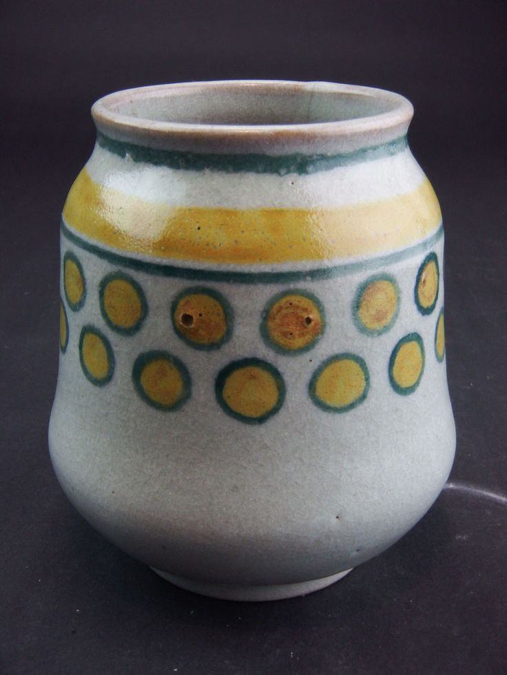 Stylish Poole Pottery - transitional vase - Carter Stabler and Adams  | eBay
