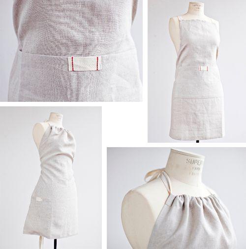 IceMilkAprons / new halter & bistro aprons