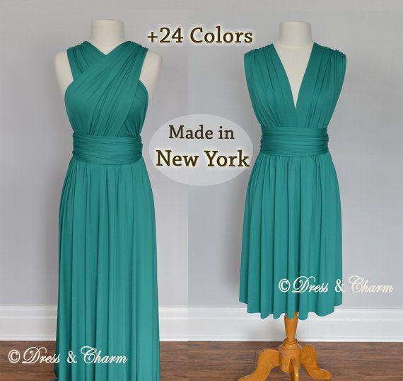 Green party dresses infinity dress infinity by justDressAndCharm