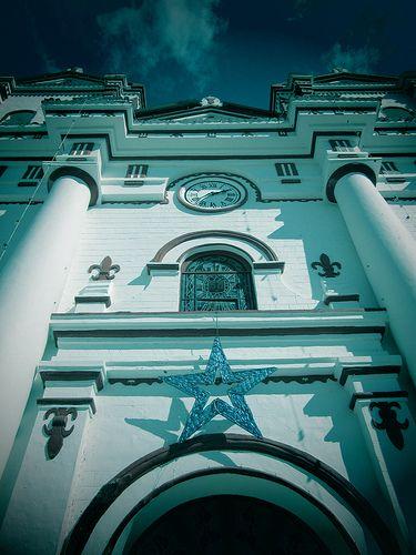 Heaven. Iglesia de Guatape -Antioquia -Colombia