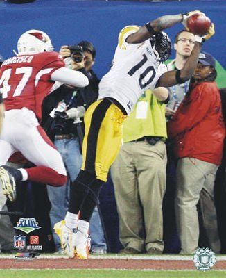 Santonio Holmes TD to win Super Bowl 43