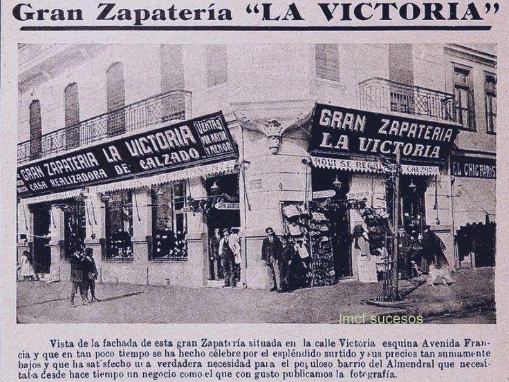 Valparaiso. Zapatería La Victoria, ubicada en calle Victoria esq. Avenida Francia