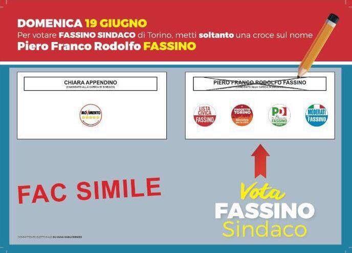 Domenica si vota così: crocia Piero Fassino!