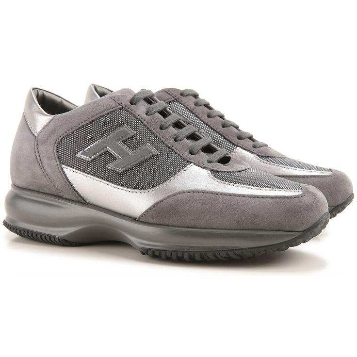 Chaussures De Sport Interactif Avec Des Paillettes D'argent Hogan qHQsZa0fm