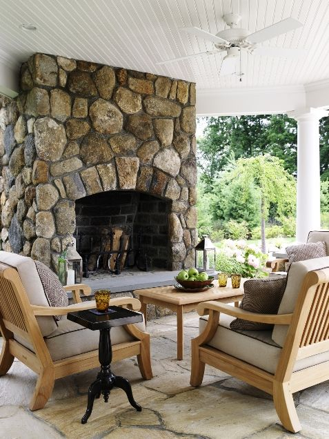 Beautiful Outdoor Living Spaces by Fairfield County, CT Home Design Firm   Country Club Homes Inc.