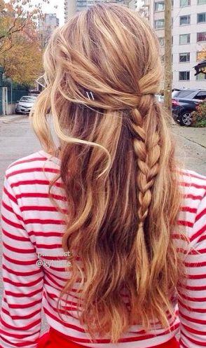 Simple waves and braid