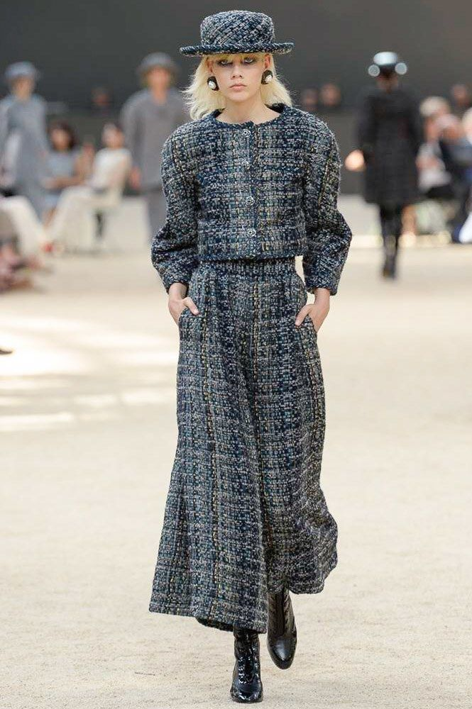 Chanel Fall 2017 Couture Fashion Show - Marjan Jonkman