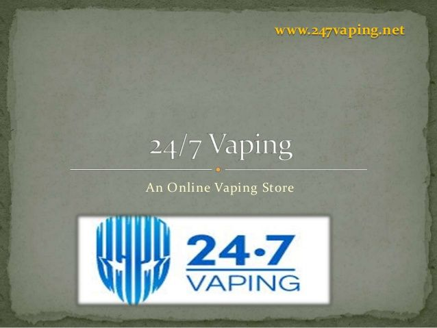 247vaping is one of the best online vaping stores which provide very effective services to its customers with 100 percent customer satisfactions.