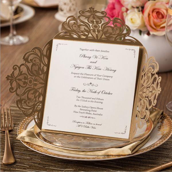 invitaciones finas tarjetas encajes bodas panamá corte laser