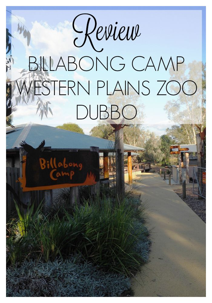 Review - Billabong Camp at Taronga Western Plains Zoo Dubbo - We loved this all-inclusive fully immersive camping experience at Dubbo Zoo! #glamping