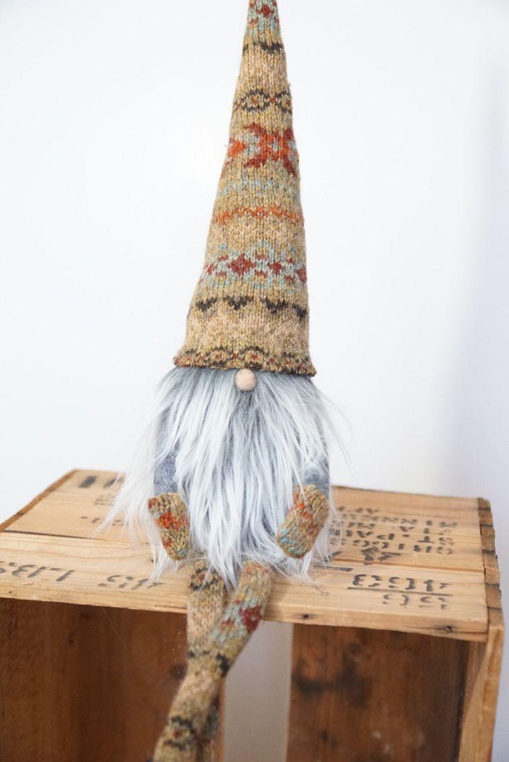 Scandinavian gnome, Nordic gnome, nordic nisse, swedish tomten, swedish santa…
