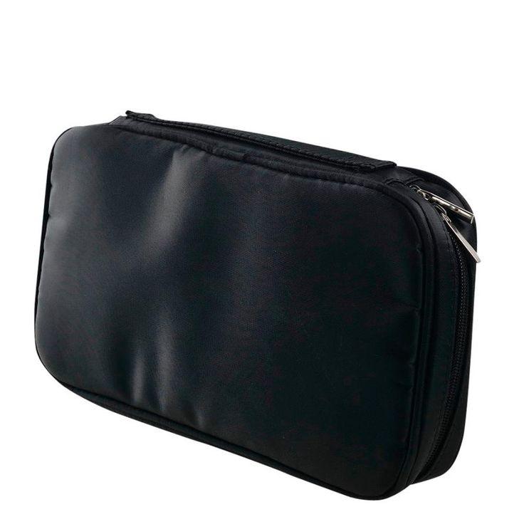 2017 Women Professional Makeup Bag Fashion Pro Makeup Brush Bag Cosmetic Tool Brush Organizer Holder Pouch Pocket Kit