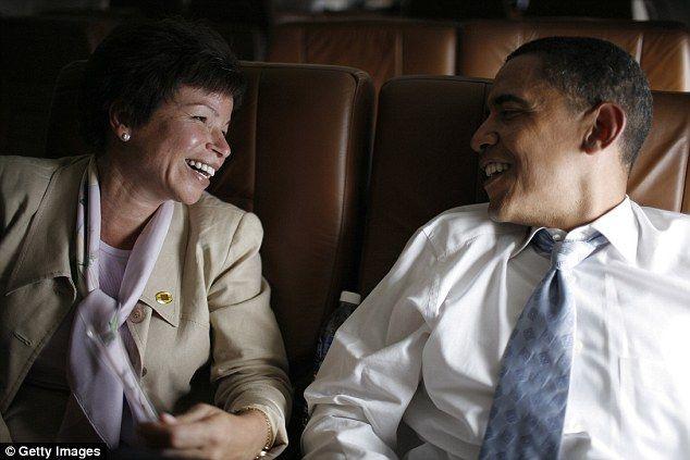 President Barack Obama's senior advisor Valerie Jarrett has revealed that President Barack Obama makes it home to dinner with his family at 6.30pm every night
