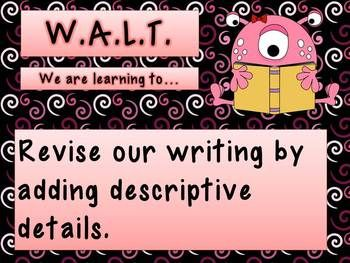WALT, WILF & TIB  A fun way to display your objectives!!  FREE PPT