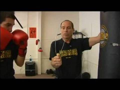 Beginner Boxing Lessons : Left Jab, Straight Right, Straight Left: Boxing Lessons