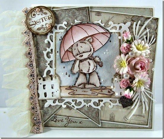 Vicky 4 - August - James Umbrella