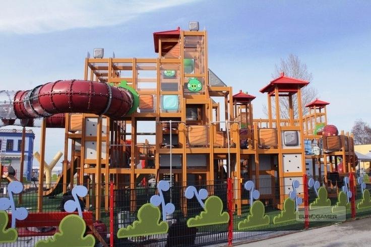 Angry Birds Land!!!: Adventure Parks, Birds Theme, Big Birds, Amusement Parks, Theme Parks, Funny Photo, Outdoor Playground, Angry Birds, Birds Land