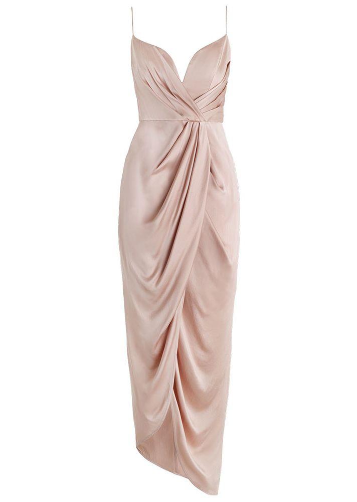 Sueded Silk Plunge Dress - Zimmermann