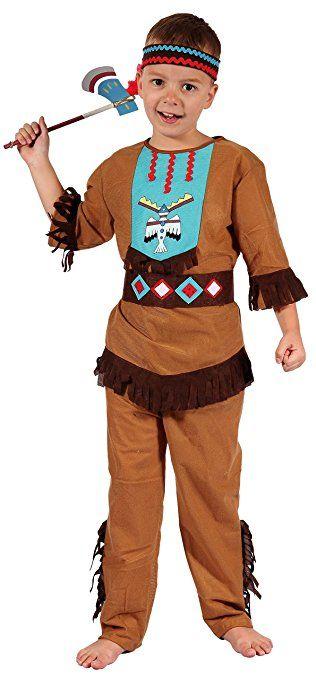 Indianer Kostum Kinder Mit Kopfschmuck Indianer Kostum Jungen