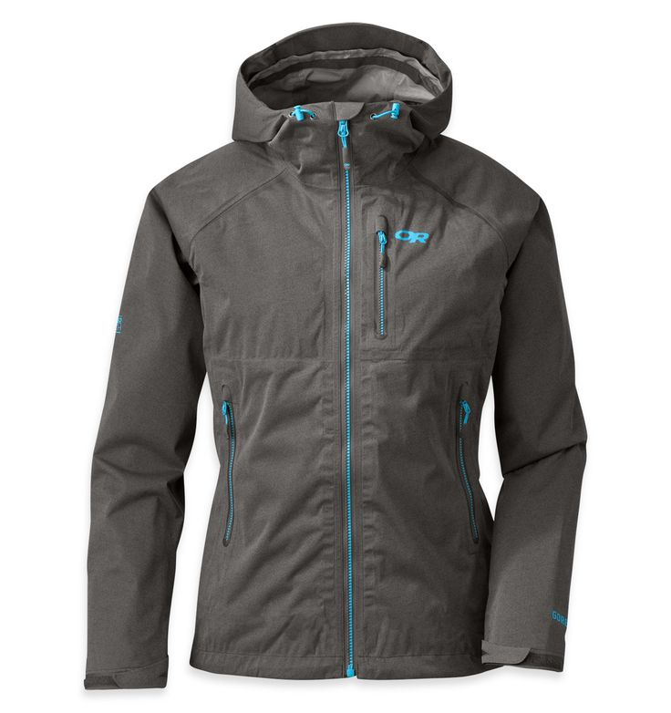"""Outdoor research - Women's Clairvoyant Jacket™ - Designed specifically for women, by women, the Clairvoyant Jacket uses the same incredibly breathable, waterproof GORE-TEX® Active technology of our Outside Magazine """"Gear Of The Year"""" award-winning Men's Axiom Jacket. Streamlined, durable and functional.."""