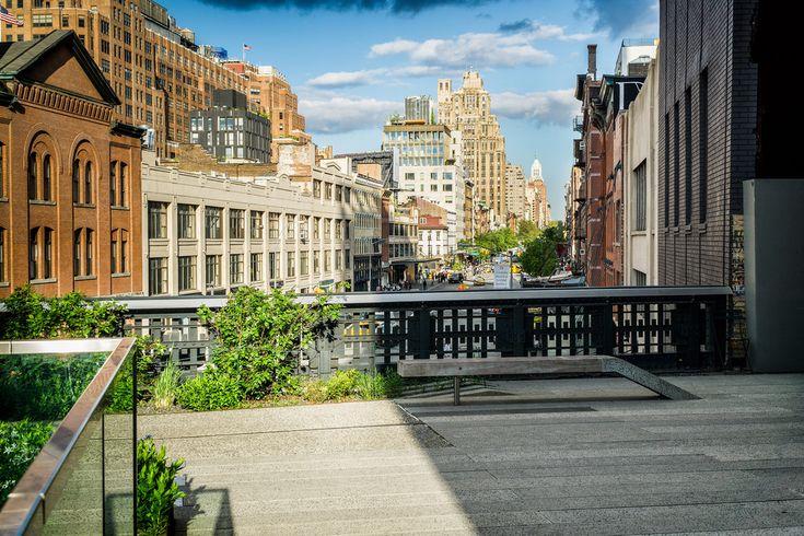 high line - parco urbano - new york - manhattan