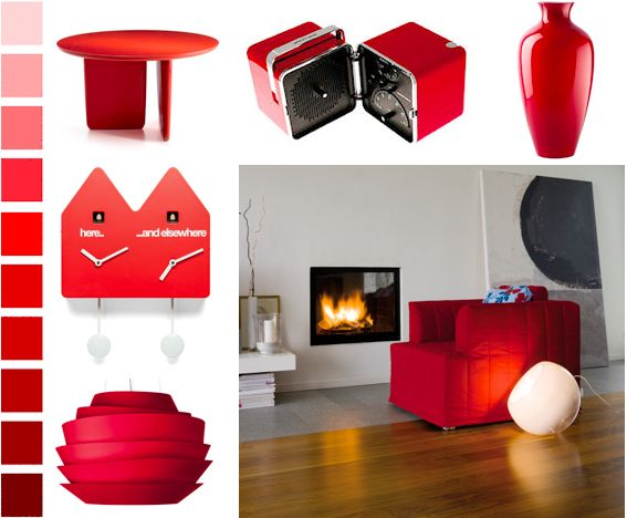 #Red, the #Christmas color par excellence, which warms and brightens the #home throughout the year.