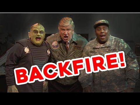 Saturday Night Live's Attack on Trump/Alex Backfires! - YouTube