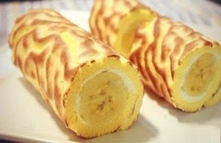 Банановый рулет
