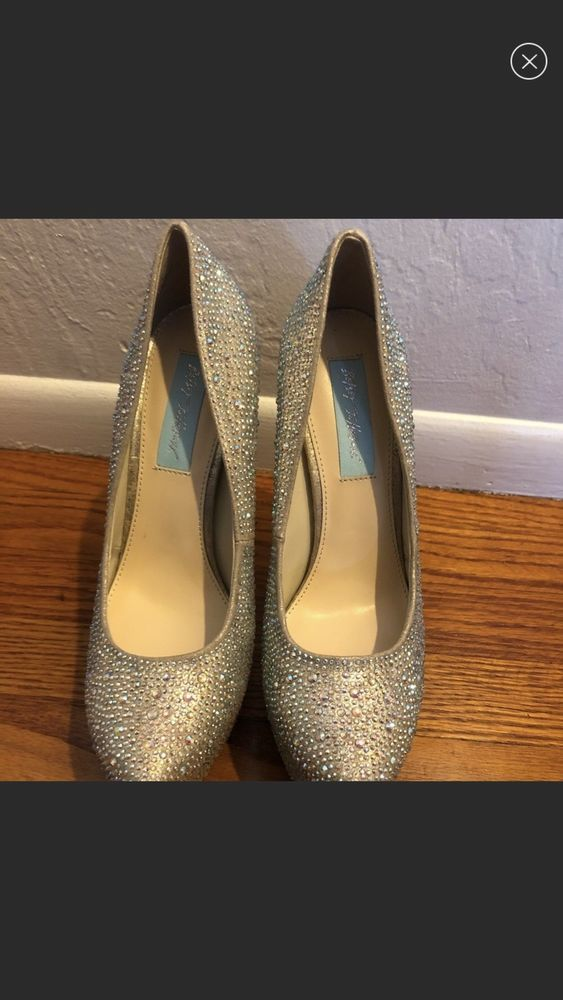 540036af96a1 Betsey Johnson Pumps Multi-Glitter Platform Heels 7.5  fashion  clothing   shoes  accessories  womensshoes  heels (ebay link)