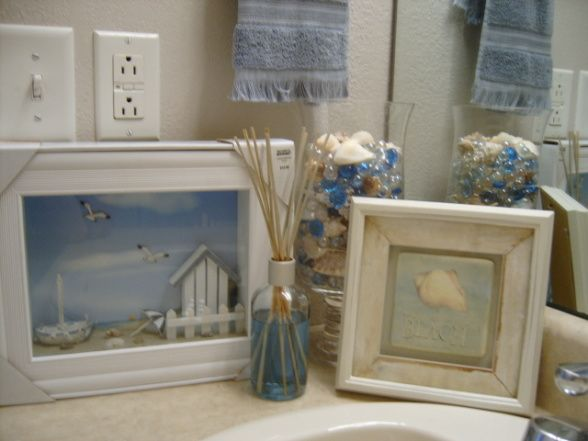 Beach theme bathrooms design bathroom ideas pinterest for Beach themed bathroom ideas