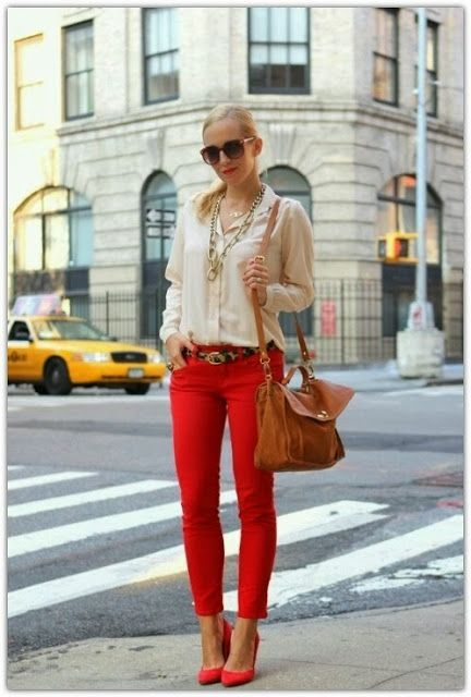 Red Jeans! In honour of Taylor Swift's show last night!!