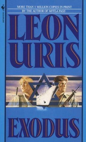 Exodus, Leon Uris, book