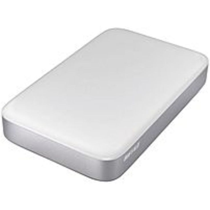 BUFFALO HD-PA2.0TU3 2 TB Ministation Thunderbolt External Hard Disk Drive - USB 3.0 - White