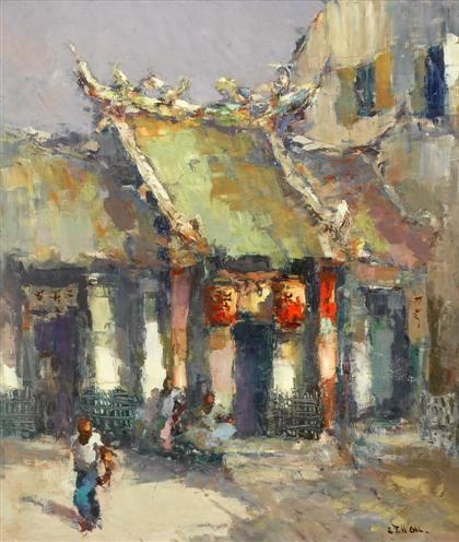 FRITS LUCIEN OHL (dutch 1904-1976) TEMPLE